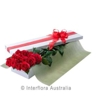 Box of Long Stem Roses