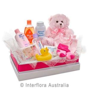 Bear and Baby Girl Gifts