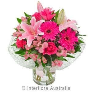 Bright Pinks in a Vase